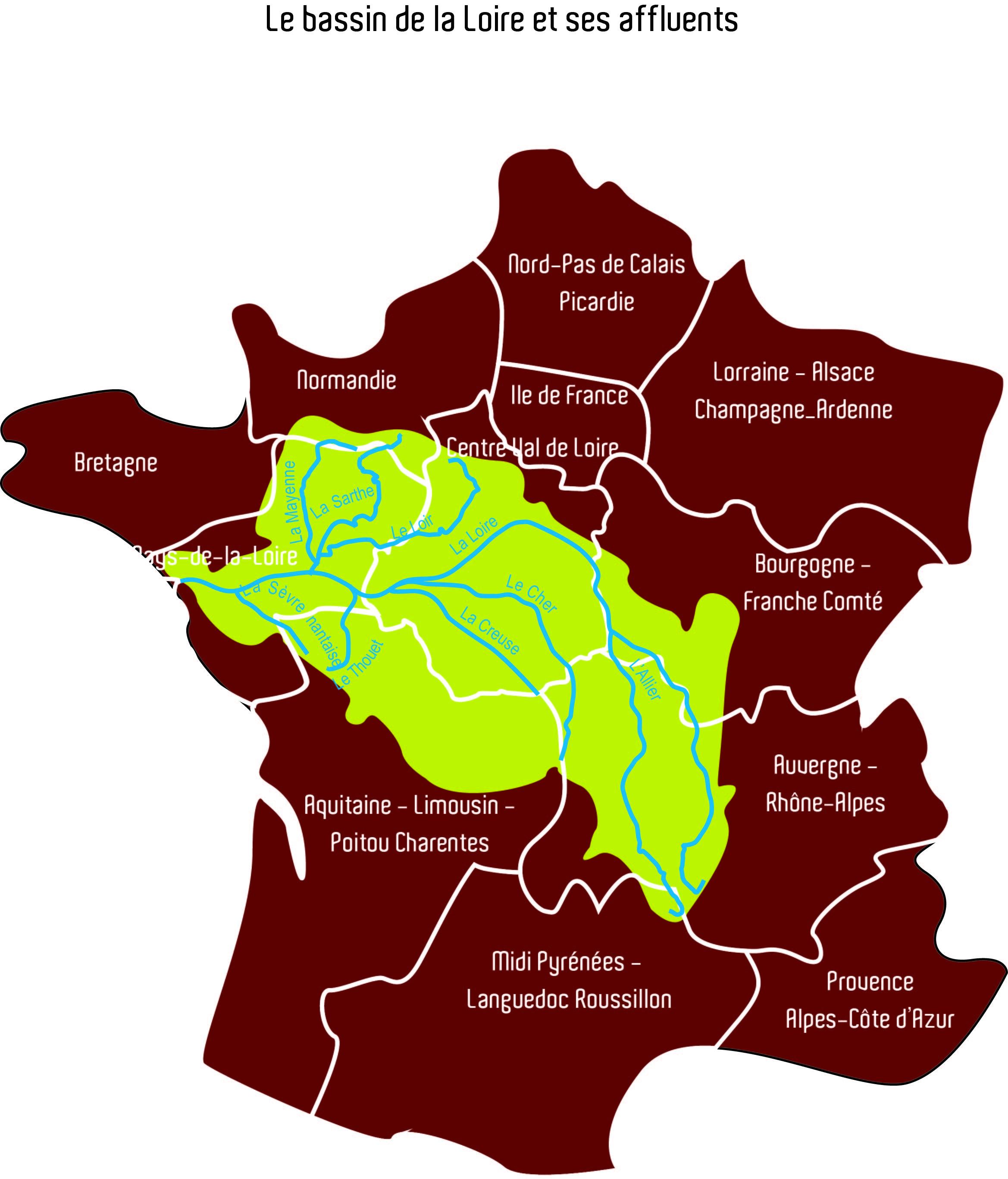 BassinLoire_France&Regions