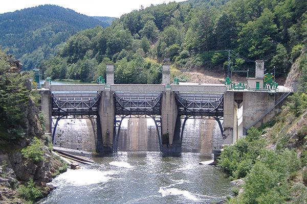 Poutès Dam today ©www.nouveau-poutes.fr
