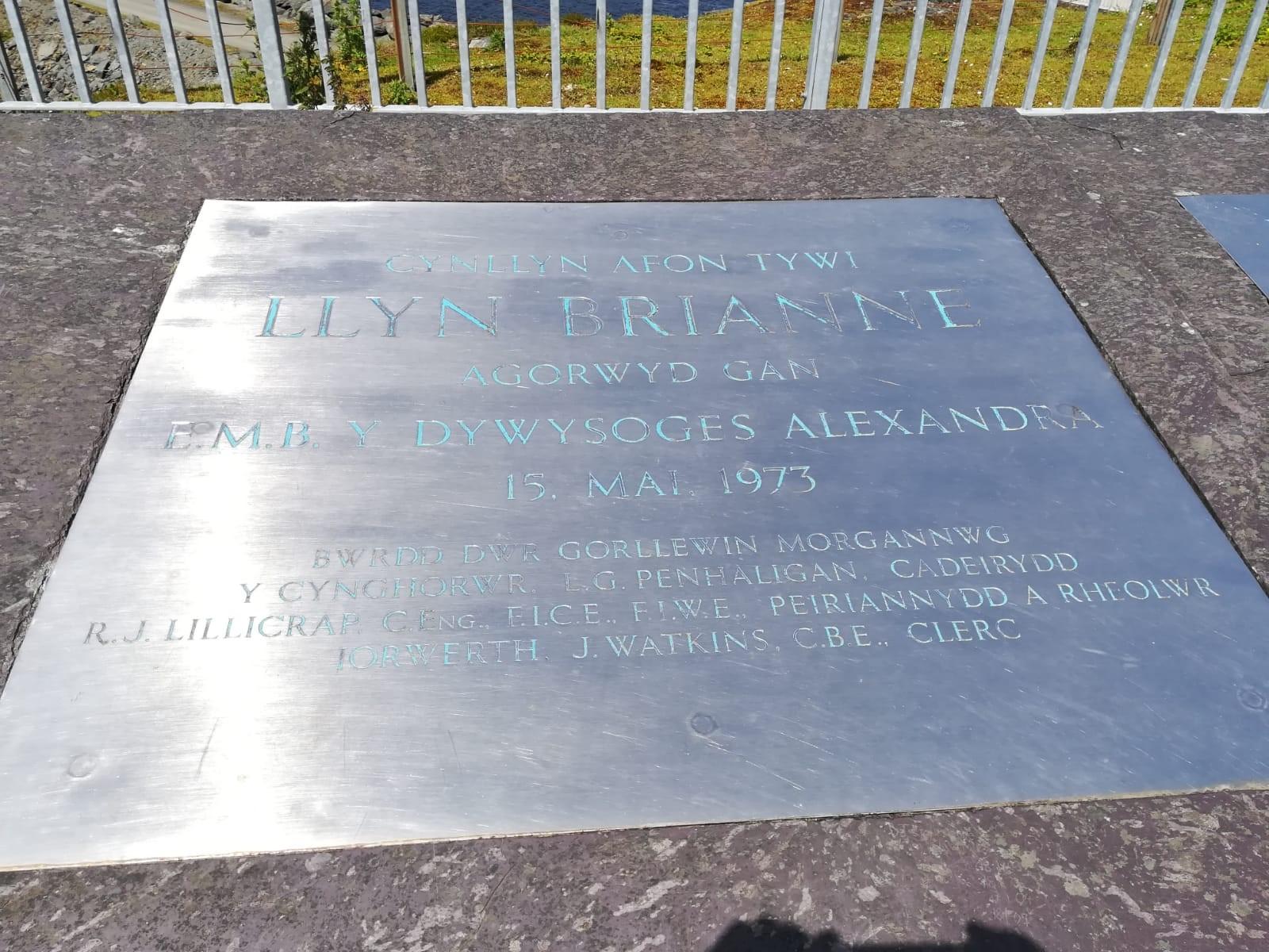 Llyn Brianne Name Plate